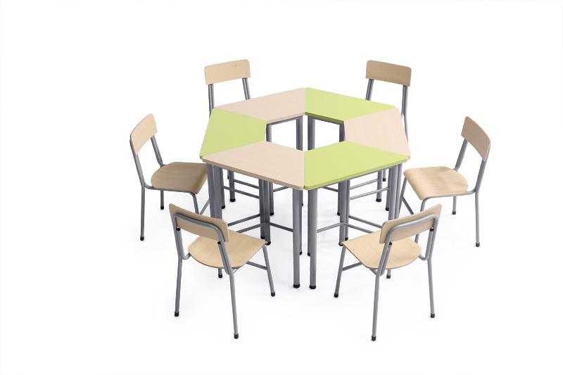 分享学生课桌椅安装方法?