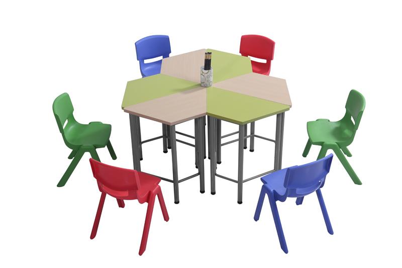 选择幼儿课桌时应重视的问题